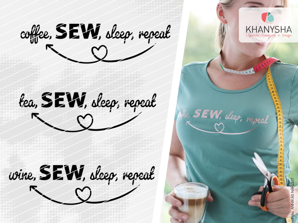 Drink, SEW, sleep, repeat